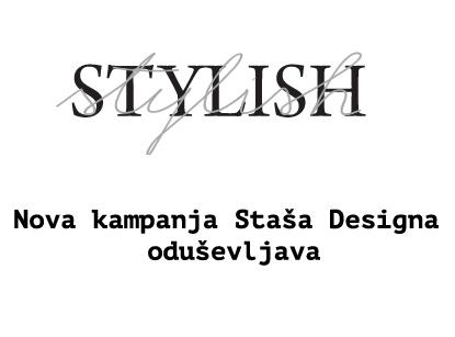 Nova kampanja Staša Designa oduševljava